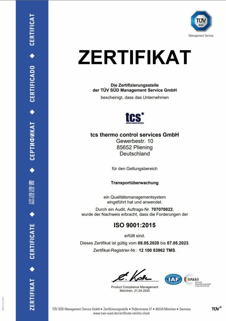 DIN ISO 9001 deutsch